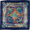 "Luxury Accessories:Accessories, Hermes Silk Scarf, ""Tropiques"". ..."