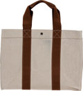 Luxury Accessories:Travel/Trunks, Hermes Toile Travel Fourre Weekend Bag. ...