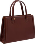 Luxury Accessories:Bags, Hermes Noisette Calf Box Leather Pullman Bag. ...