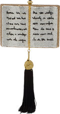 Luxury Accessories:Bags, Kathrine Baumann Great Expectations Book Full Bead MinaudiereEvening Bag, #15/500. ...