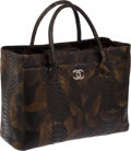 Luxury Accessories:Bags, Chanel Extremely Rare Python Oversize Executive Tote Bag withPouch. ...