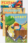Magazines:Miscellaneous, Playboy Group (HMH Publishing, 1954) Condition: Average VG+....(Total: 5 Items)