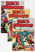 Golden Age (1938-1955):Science Fiction, Brick Bradford #5, 6, and 8 Group (Better Publications,1948-49).... (Total: 3 Comic Books)