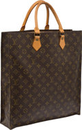 Luxury Accessories:Bags, Louis Vuitton Classic Monogram Sac Plat Shopper Bag. ...