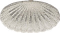 Luxury Accessories:Bags, Judith Leiber Full Silver Bead Shell Minaudiere Evening Bag. ...