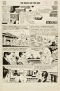 Original Comic Art:Panel Pages, Mike Sekowsky, Bernard Sachs, and Joe Giella The Brave and theBold #29 Second Appearance of the Justice League of...