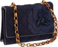 Luxury Accessories:Bags, Chanel Denim Camelia Flower Mini Bag with Chain Strap. ...