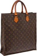 Luxury Accessories:Bags, Louis Vuitton Classic Monogram Sac Plat Bag. ...