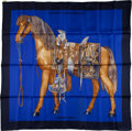 "Luxury Accessories:Accessories, Hermes Silk Scarf, ""Mon Petit Cheval Mexicain,"" by W.K.. ..."