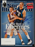 """Basketball Collectibles:Publications, Dick Nowitzki Signed """"Sports Illustrated"""" Magazine...."""