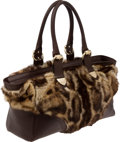 Luxury Accessories:Bags, Gucci Large Ocelot Fur Tote Bag. ...