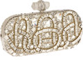 Luxury Accessories:Bags, Marchesa Limited Edition Crystal Evening Clutch. ...