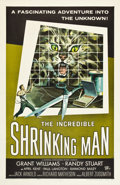 """Movie Posters:Science Fiction, The Incredible Shrinking Man (Universal International, 1957). OneSheet (27"""" X 41"""").. ..."""