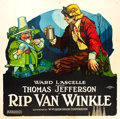"Movie Posters:Drama, Rip Van Winkle (Hodkinson Pictures, 1921). Six Sheet (81"" X 81"").. ..."