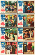 """Movie Posters:War, The Great Escape (United Artists, 1963). Lobby Card Set of 8 (11"""" X14"""").. ..."""