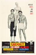 """Movie Posters:Comedy, Gidget (Columbia, 1959). One Sheet (27"""" X 41"""").. ..."""