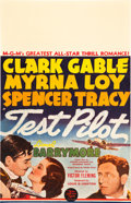 """Movie Posters:Action, Test Pilot (MGM, 1938). Window Card (14"""" X 22"""").. ..."""