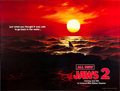 "Movie Posters:Horror, Jaws 2 (Universal, 1978). Subway (45"" X 59.5""). Advance.. ..."