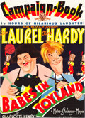 """Movie Posters:Comedy, Babes in Toyland (MGM, 1934). Pressbook Cover (14"""" X 20"""") andInterior(Multiple Pages).. ... (Total: 2 Items)"""
