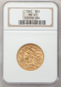 Liberty Eagles: , 1892 $10 MS61 NGC. NGC Census: (3194/3490). PCGS Population(1435/1494). Mintage: 797,400. Numismedia Wsl. Price for proble...