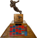 Football Collectibles:Others, 1941-96 Los Angeles College Football UCLA Bruins vs. USC TrojansChampionship Trophy....