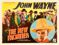 "Movie Posters:Western, The New Frontier (Republic, 1935). Title Lobby Card (11"" X 14"")....."