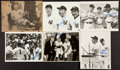 Baseball Collectibles:Photos, New York Yankees Legends Signed Photographs Lot of 6....