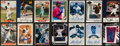 Autographs:Sports Cards, Baseball Greats Signed Card Lot Of 26....