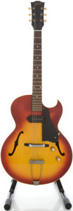 Musical Instruments:Electric Guitars, 1963 Gibson ES-125TC Cherry Sunburst Semi-Hollow Body Electric Guitar, Serial # 984591....