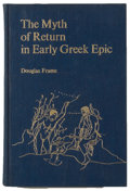 Books:Reference & Bibliography, Group of Four Books Related to Literary Study, including: DouglasFrame. The Myth of Return in Early Greek Epic.... (Total: 4Items)