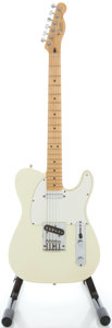 Musical Instruments:Electric Guitars, 1992 Fender Telecaster MIM White Solid Body Electric Guitar, Serial# MN2119537....