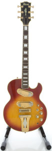 Musical Instruments:Electric Guitars, Circa 1970's Ibanez L-5S Cherryburst Solid Body Electric Guitar...