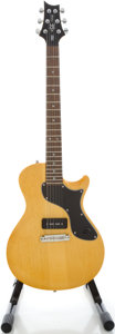 Musical Instruments:Electric Guitars, Paul Reed Smith (PRS) SE One Korina Solid Body Electric Guitar,Serial #K18030....