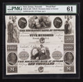 Obsoletes By State:New Jersey, Newark, NJ- Mechanics Bank at Newark $500-$1000 G46-G50 Proofs. ...