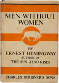 Books:Literature 1900-up, Ernest Hemingway. Men Without Women. New York: CharlesScribner's Sons, 1927. First edition, first printing, wit...