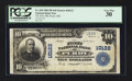 National Bank Notes:Missouri, Purdy, MO - $10 1902 Plain Back Fr. 628 The First NB Ch. # 10122....