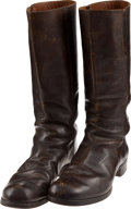 Military & Patriotic:Indian Wars, C. 1870 - 80 American Military Style Boots... (Total: 2 Items)