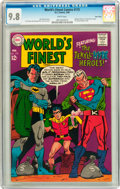 Silver Age (1956-1969):Superhero, World's Finest Comics #173 Twin Cities pedigree (DC, 1968) CGC NM/MT 9.8 White pages....