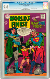 World's Finest Comics #173 Twin Cities pedigree (DC, 1968) CGC NM/MT 9.8 White pages