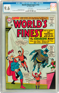 World's Finest Comics #152 Twin Cities pedigree (DC, 1965) CGC NM+ 9.6 White pages