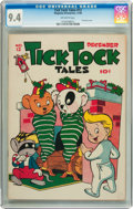 Golden Age (1938-1955):Funny Animal, Tick Tock Tales #12 (Magazine Enterprises, 1946) CGC NM 9.4Off-white pages....