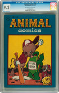 Golden Age (1938-1955):Funny Animal, Animal Comics #23 (Dell, 1946) CGC NM- 9.2 Off-white to whitepages....