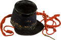 Military & Patriotic:Civil War, US M1864 Light Artillery Shako Horstmann Contract of 1866 with Original Red Suspensory Cord.... (Total: 2 )