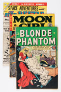 Golden Age (1938-1955):Miscellaneous, Comic Books - Assorted Golden Age Comics Group (Various, 1940s-'50s) Condition: Average GD.... (Total: 6 Comic Books)