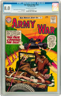 Silver Age (1956-1969):War, Our Army at War #131 (DC, 1963) CGC VF 8.0 Off-white to white pages....