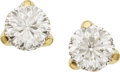 Estate Jewelry:Earrings, Diamond, Gold Earrings, Roberto Coin. ...