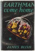Books:Science Fiction & Fantasy, [Jerry Weist]. James Blish. Earthman, Come Home. London: Faber and Faber, [1956]. First British edition, first p...