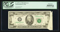 Error Notes:Foldovers, Fr. 2077-G $20 1990 Federal Reserve Note. PCGS About New 50PPQ.....