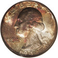Washington Quarters: , 1942-D 25C MS68 NGC. The 1942-D quarter is extremely rare in thelofty grade of MS68. Indeed, only two specimens have been ...