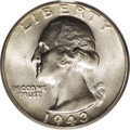 Washington Quarters: , 1943-S 25C Doubled Die Obverse MS65 PCGS. FS-017 or FS-101 in thenew Fourth Edition, Volume II of The Cherrypicker's Gui...